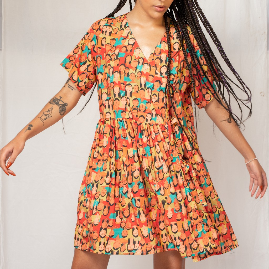 Vestido Ninfa Coronada Guajira_1