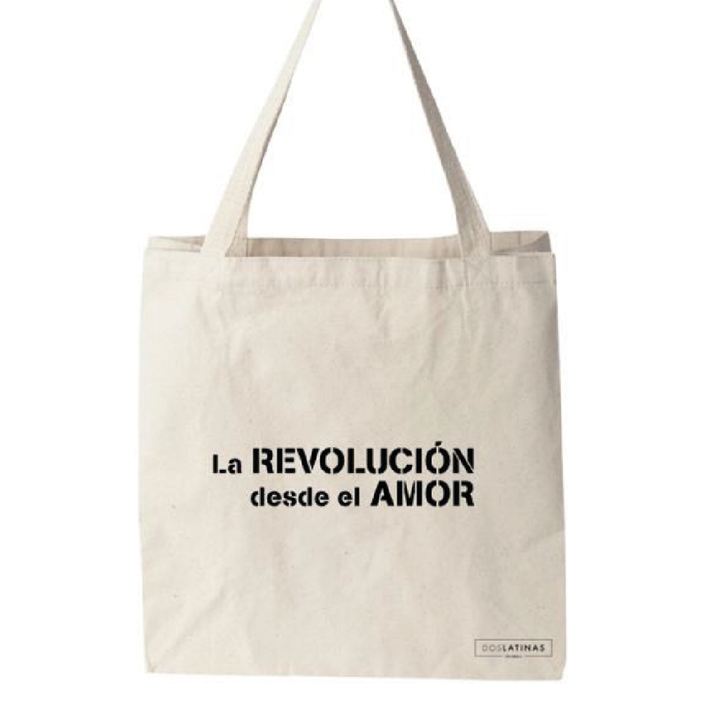 La Revolución Desde El Amor Tote Bag _1