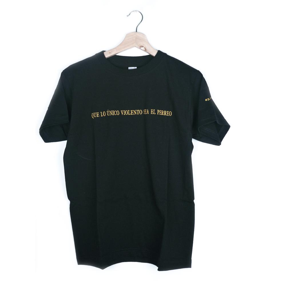 Que Lo Único Violento Sea El Perreo Camiseta_1