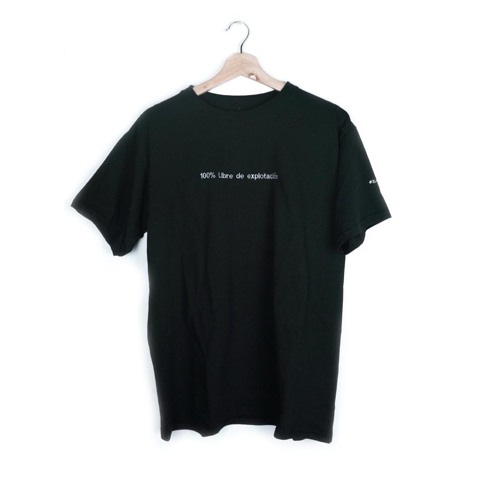 100% Libre De Explotación Camiseta_1