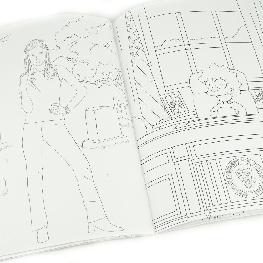 Girl Power Libro Para Colorear _3