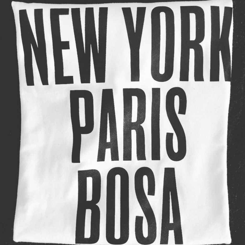Camiseta New York, Paris, Bosa_2