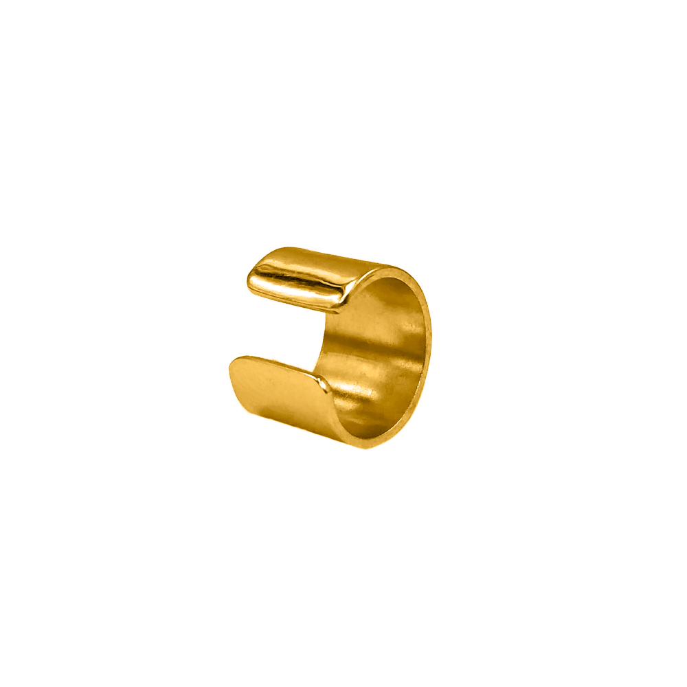Ear Cuff Extra Wide Dorado_1