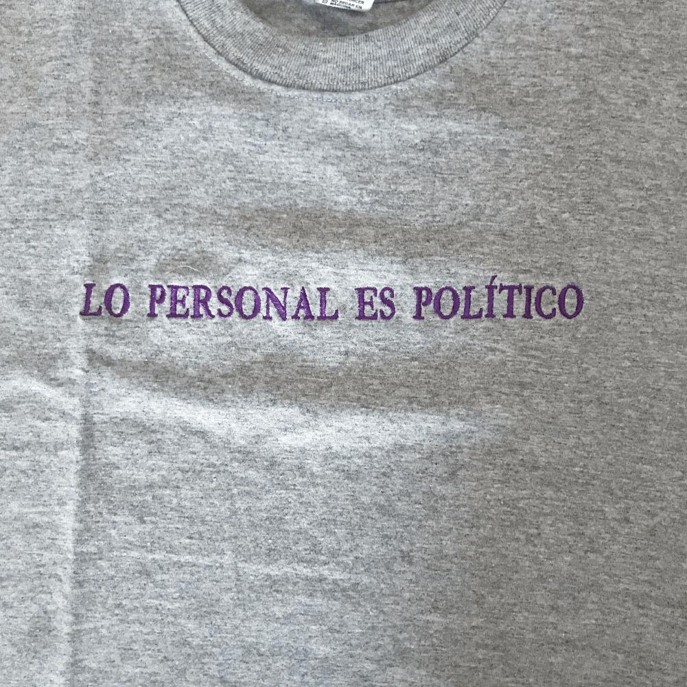 Lo personal Es Político Camiseta_4