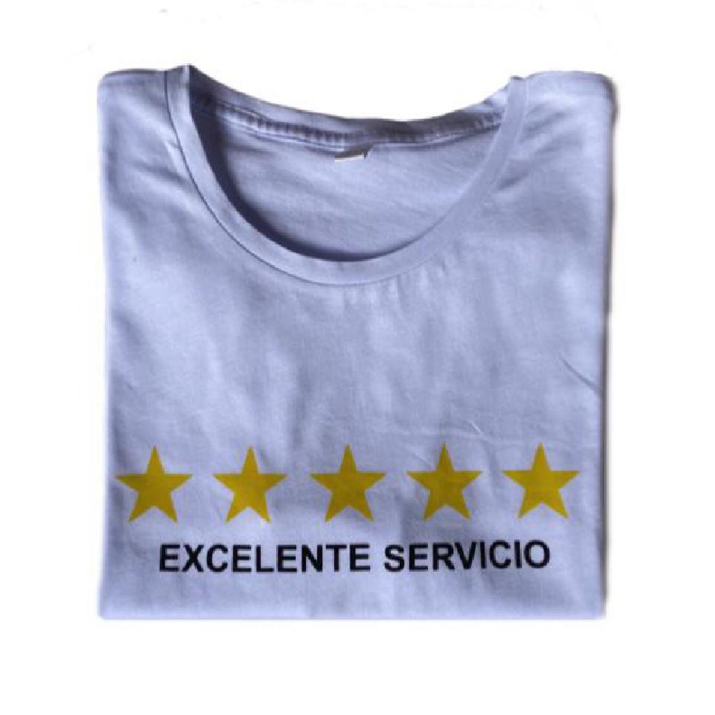 Excelente Servicio Camiseta_1