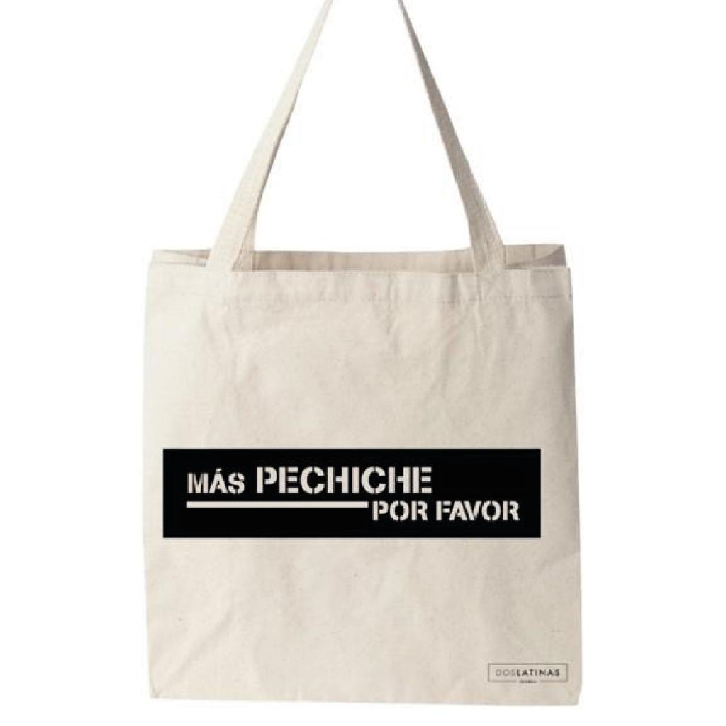 Más Pechiche Por Favor Negro Toete Bag_1