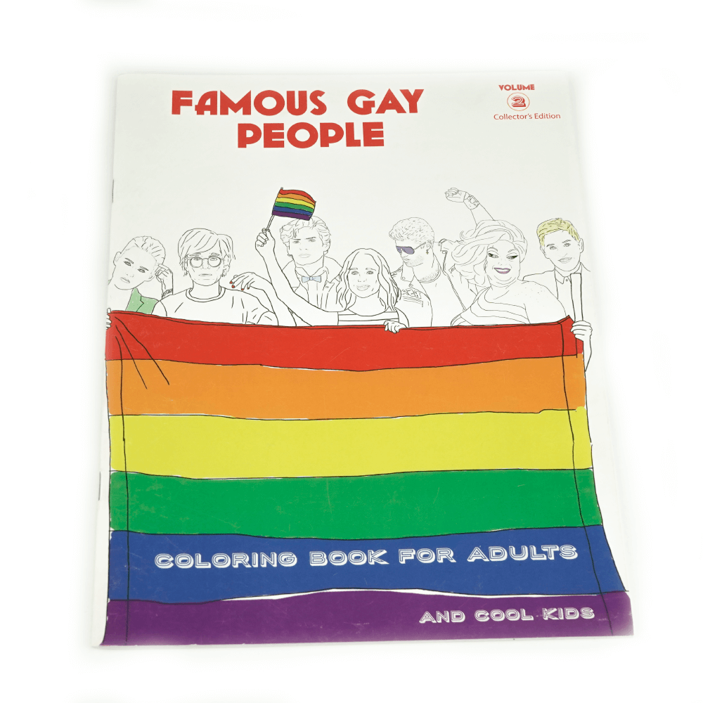 Libro Para Colorear Famous Gay People_1