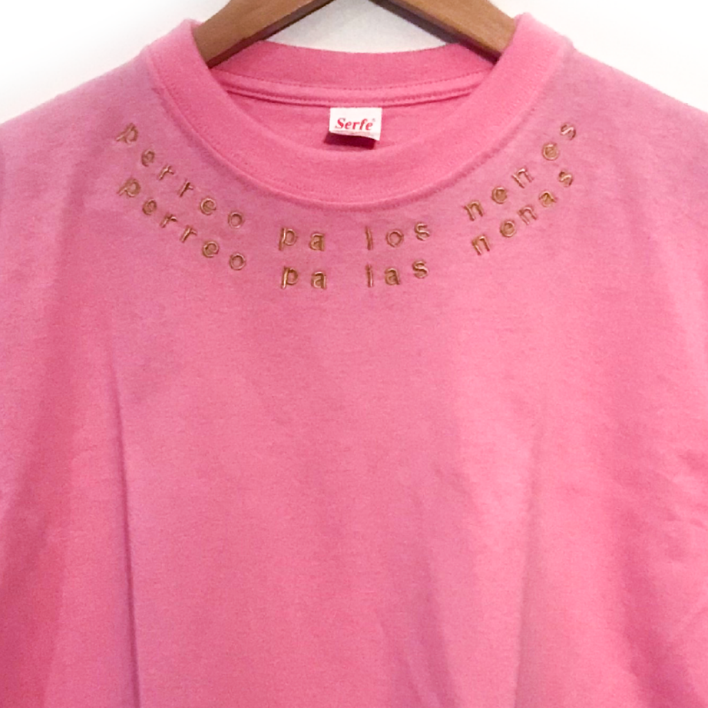 Camiseta Perreo Pa Los Nenes Perreo Pa Las Nenas Cuello_4