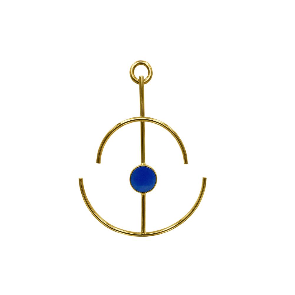 Anchor Earrings Lapislázuli_2