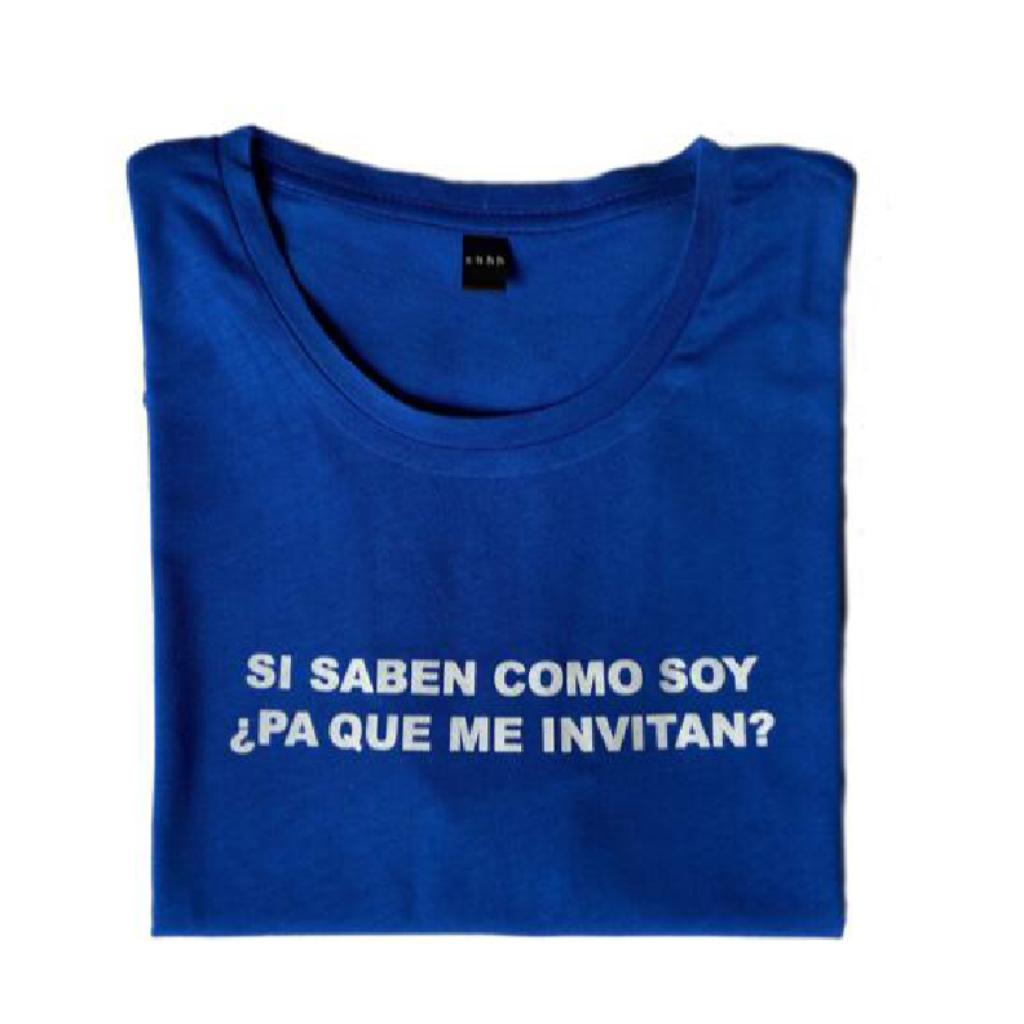 Pa Que Me Invitan Camiseta_2
