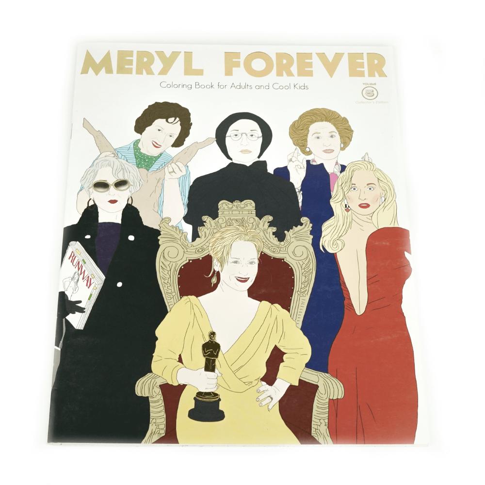 Libro Para Colorear Meryl For Ever_1