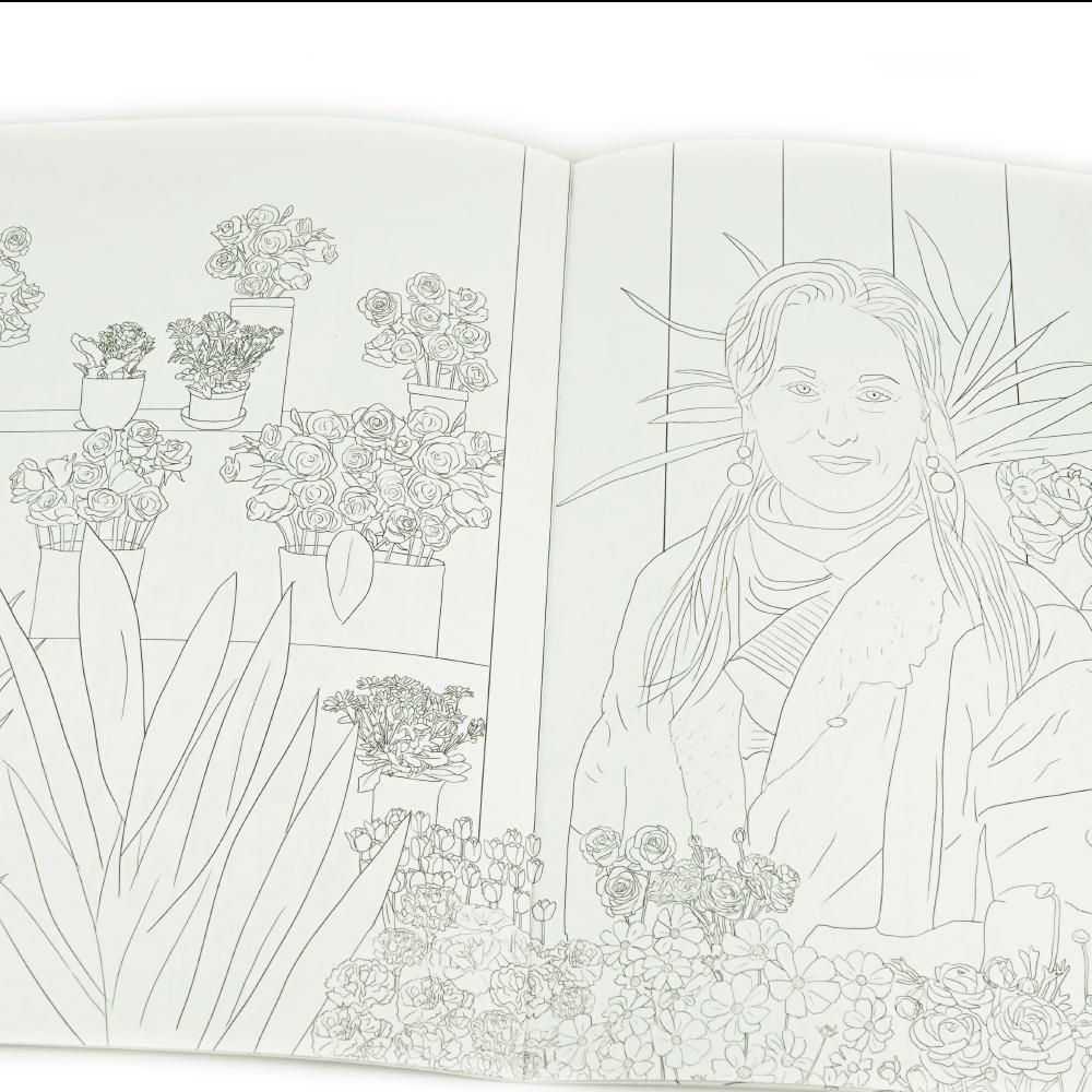 Libro Para Colorear Meryl For Ever_3