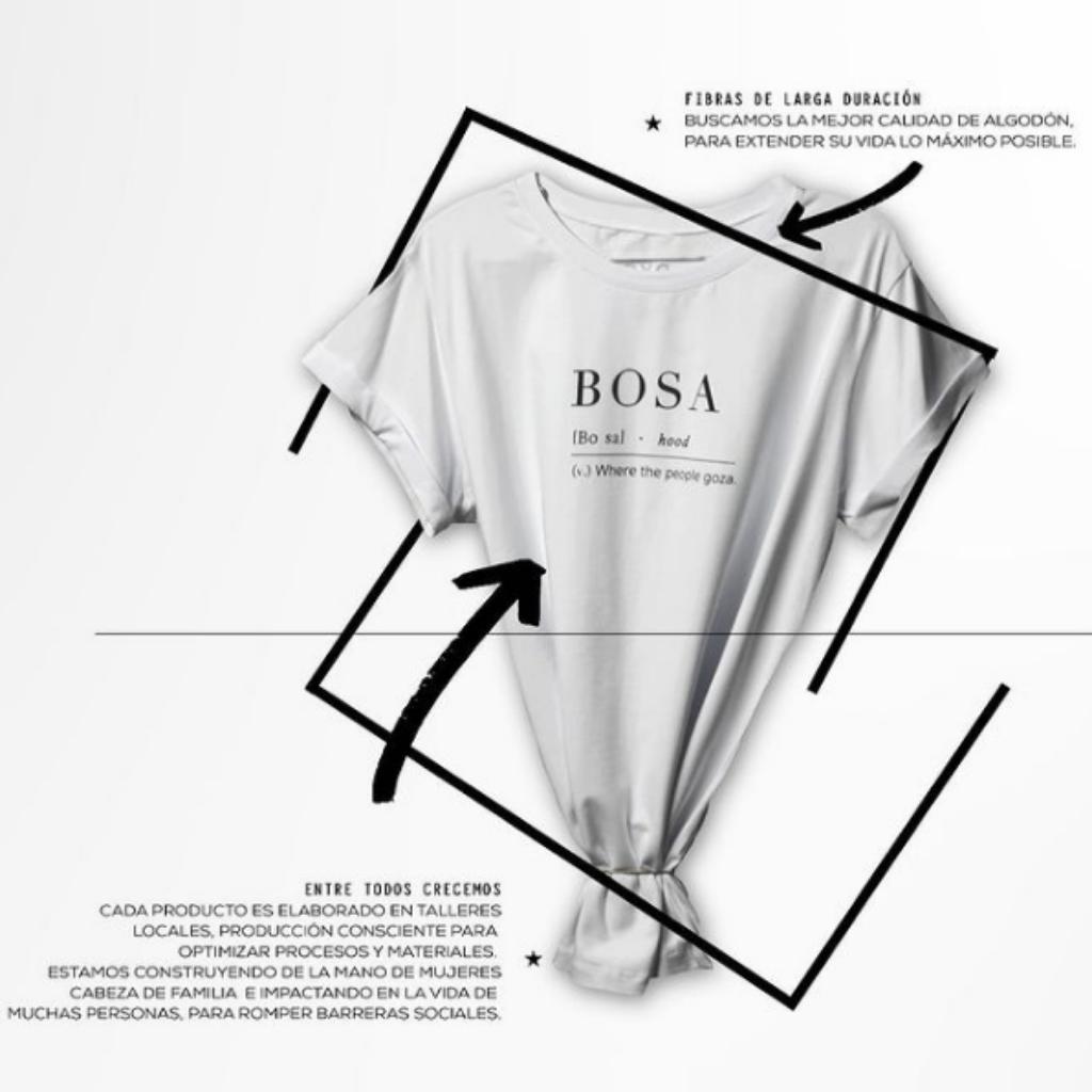 Bosa: Where The People Goza Camiseta_1