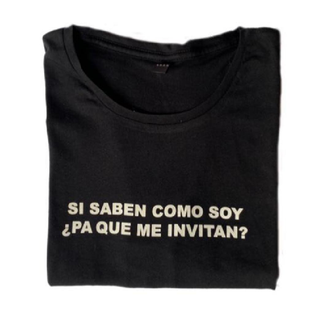 Pa Que Me Invitan Camiseta_1