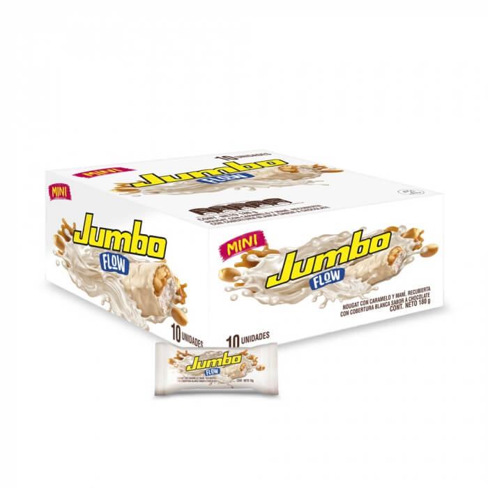CHOCOLATINA JUMBO FLOW BLANCA MINI *10und *180gr_1