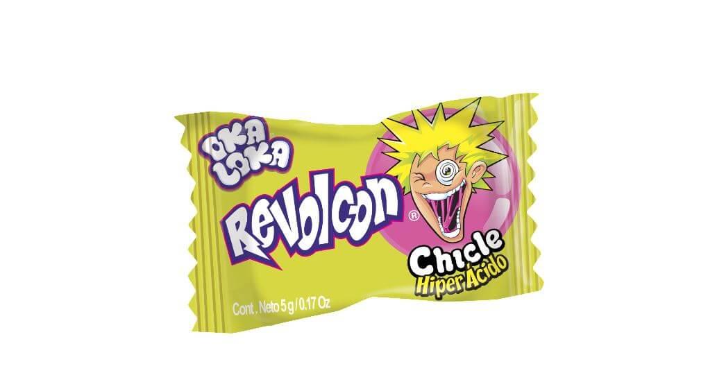 CHICLE REVOLCON OKA LOKA *50und *250gr_4