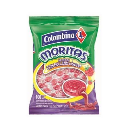 CARAMELO MORITAS COLOMBINA *100und *350gr_1