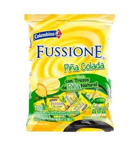 CARAMELO FUSSIONE PIÑA COLADA *100und *400gr_1