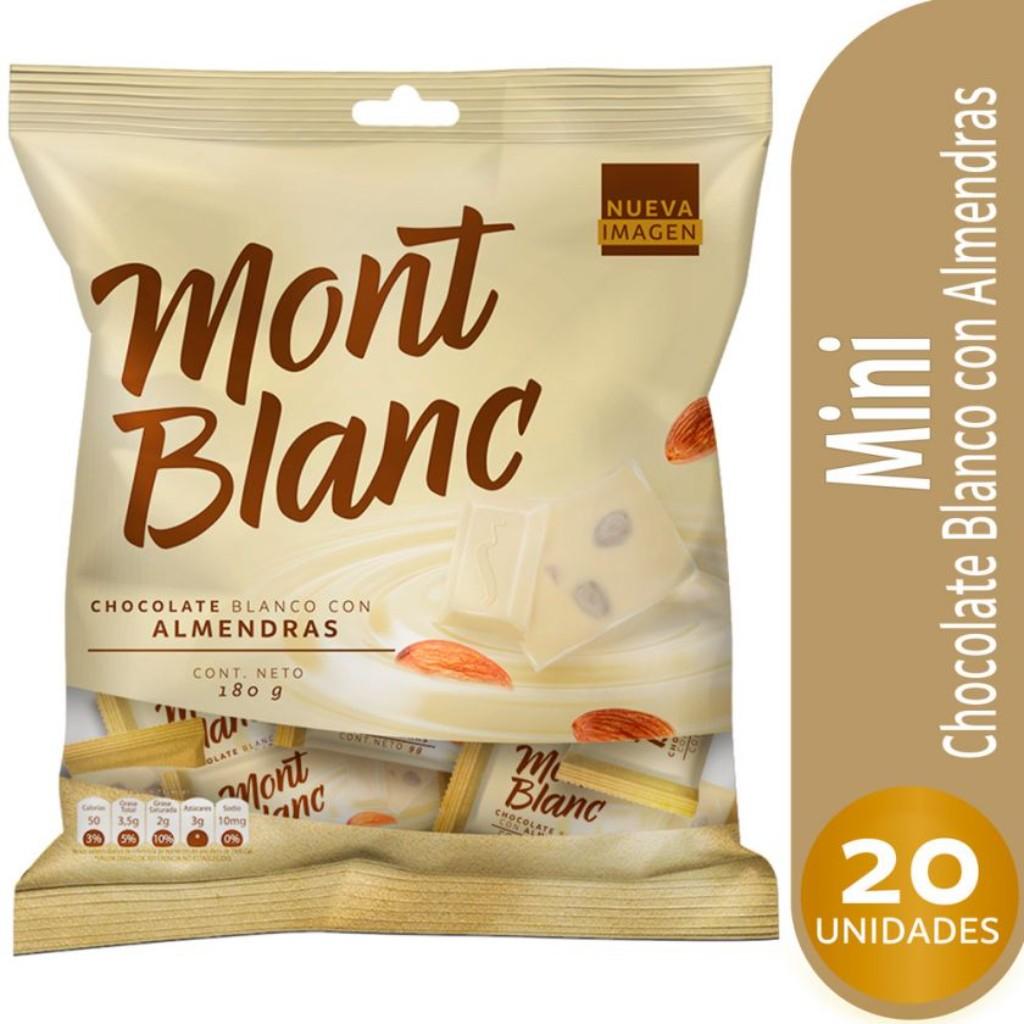 CHOCOLATINA MONTBLANC BLANCA *20und *180gr_1