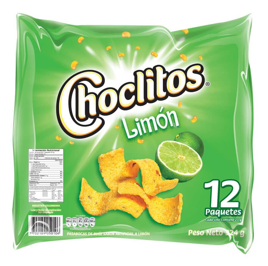 CHOCLITOS LIMON *27gr_2