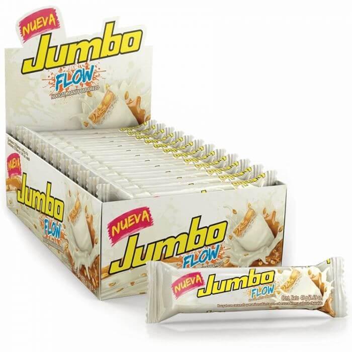 CHOCOLATINA JUMBO FLOW BLANCA *48gr_1
