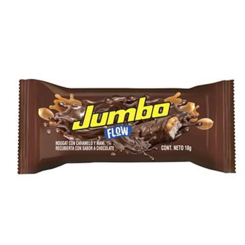 CHOCOLATINA JUMBO FLOW LECHE MINI *10und *180gr_2