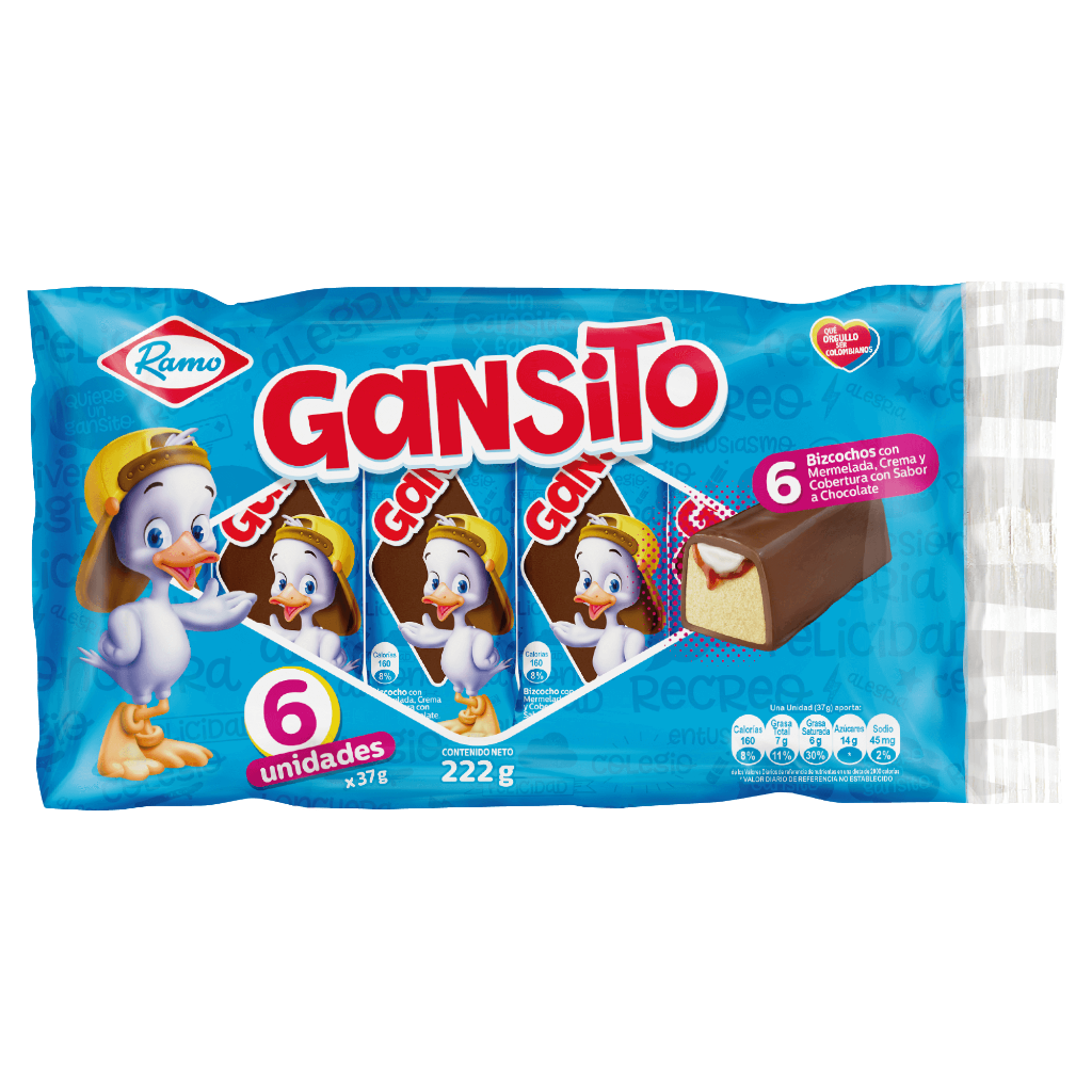 PONQUE GANSITO *6unid *222gr_1