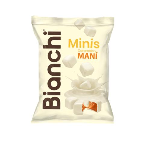BIANCHI MINIS BLANCO CARAMELO Y MANÍ *65gr_1