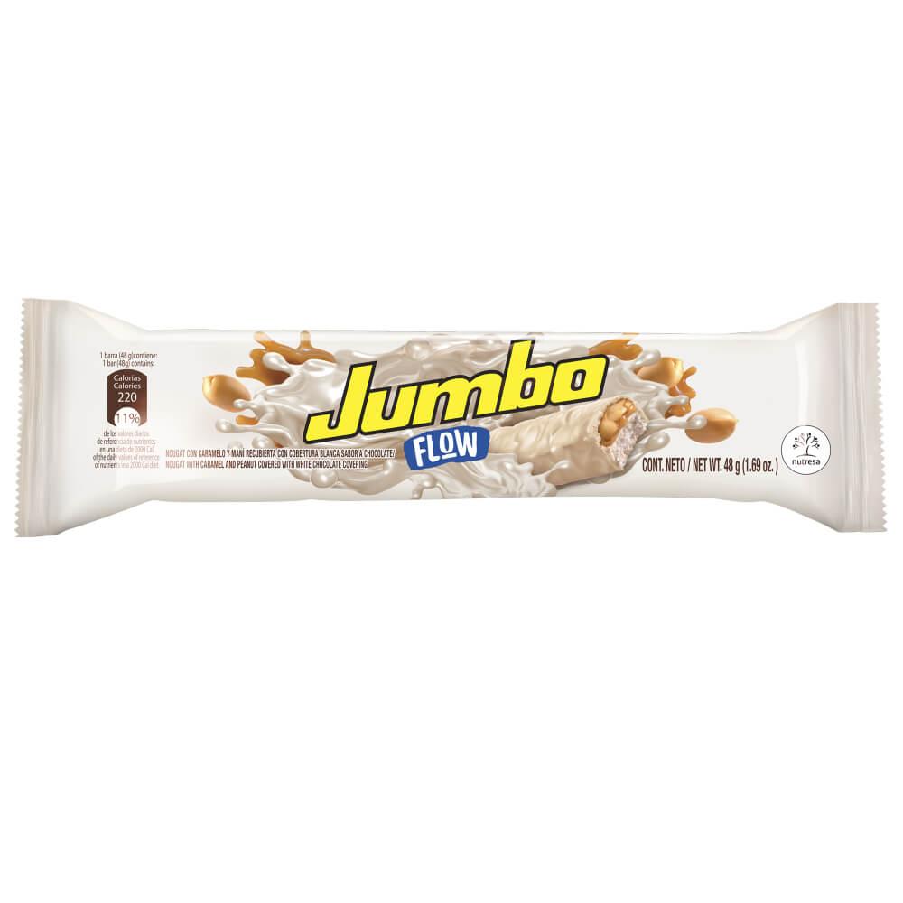 CHOCOLATINA JUMBO FLOW BLANCA *48gr_2