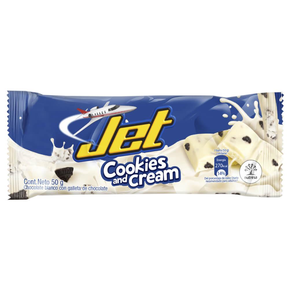 CHOCOLATINA JET COOKIES AND CREAM *50gr_1