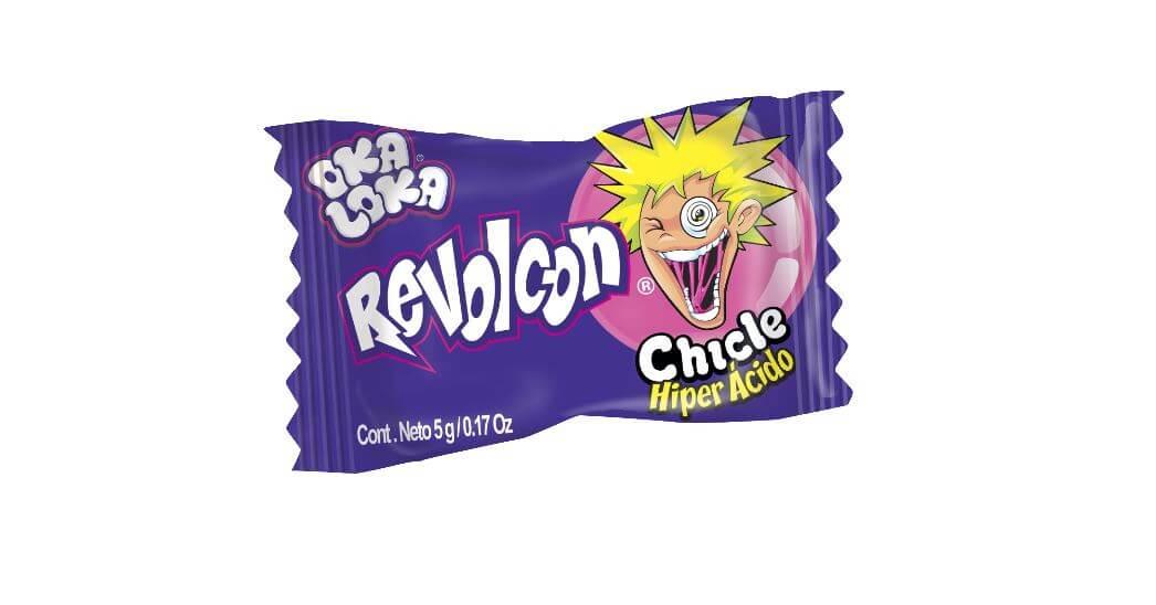 CHICLE REVOLCON OKA LOKA *50und *250gr_2