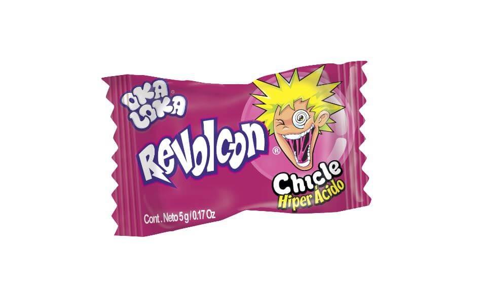 CHICLE REVOLCON OKA LOKA *50und *250gr_3