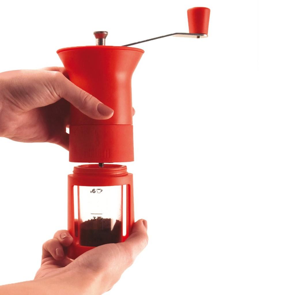 Moledor Manual de Café Rojo | Bialetti_2