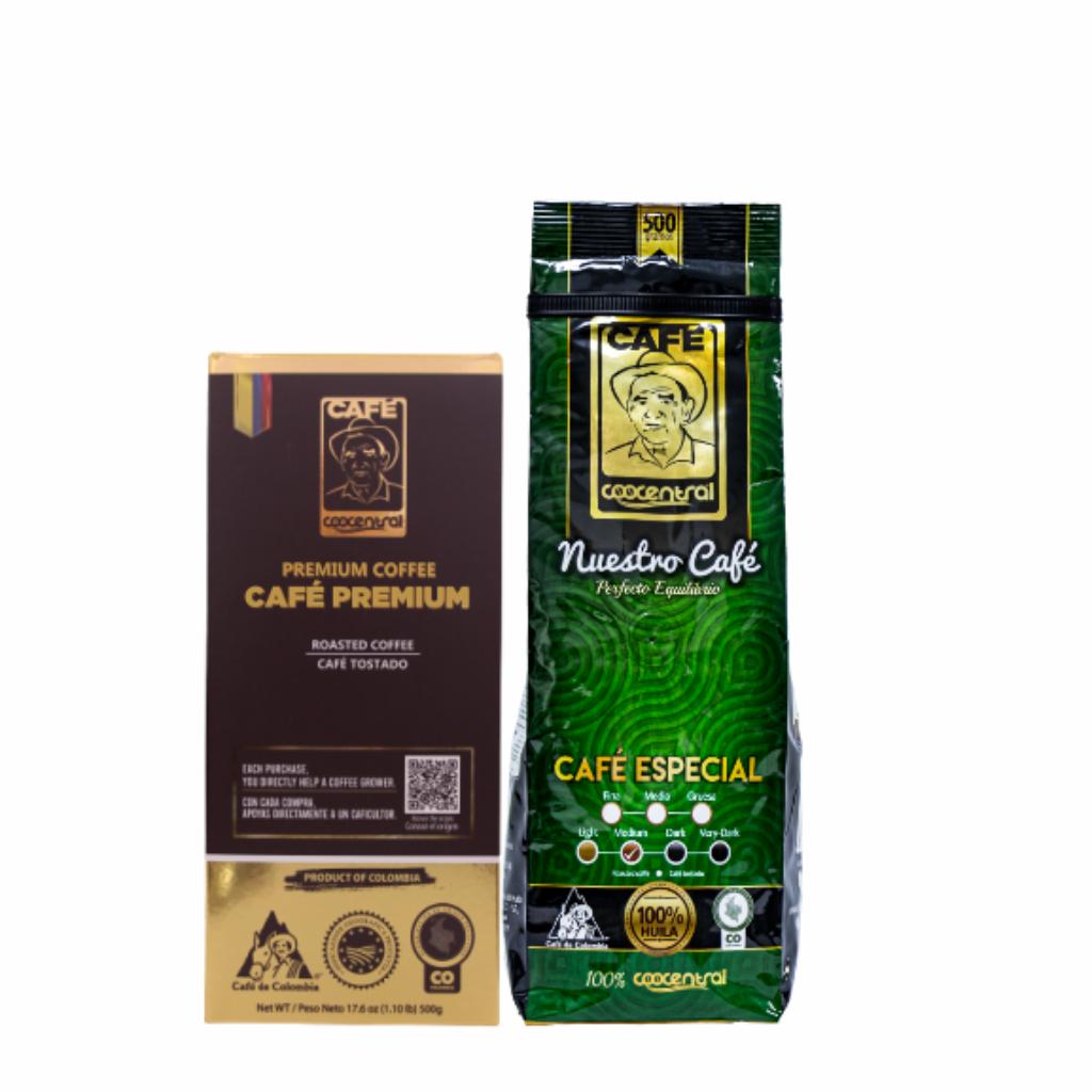Dúo Café Premium 500 g  Café Especial 500 g_1