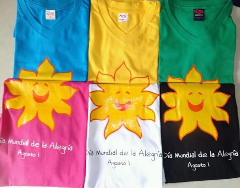 Camiseta oficial Pro Fondos del Día Mundial de la Alegría_4