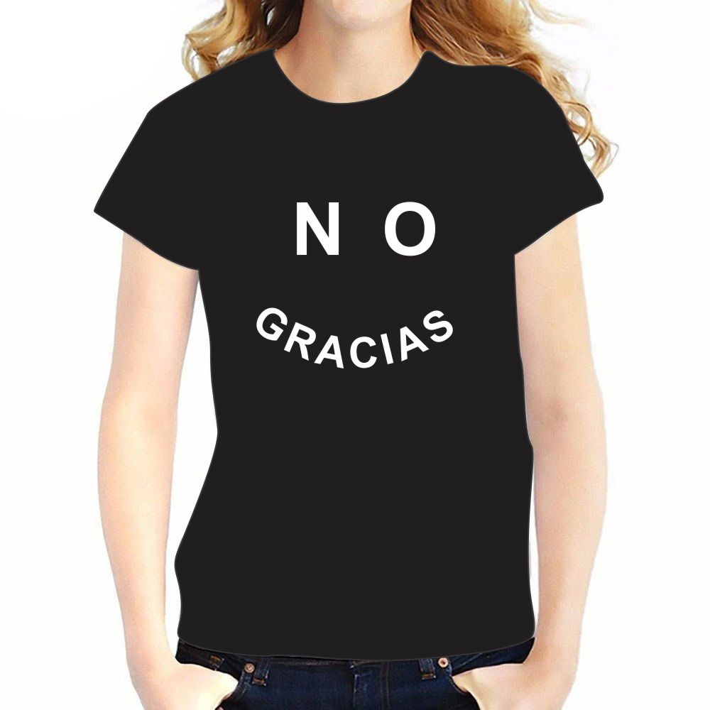 Camiseta -NO GRACIAS_2