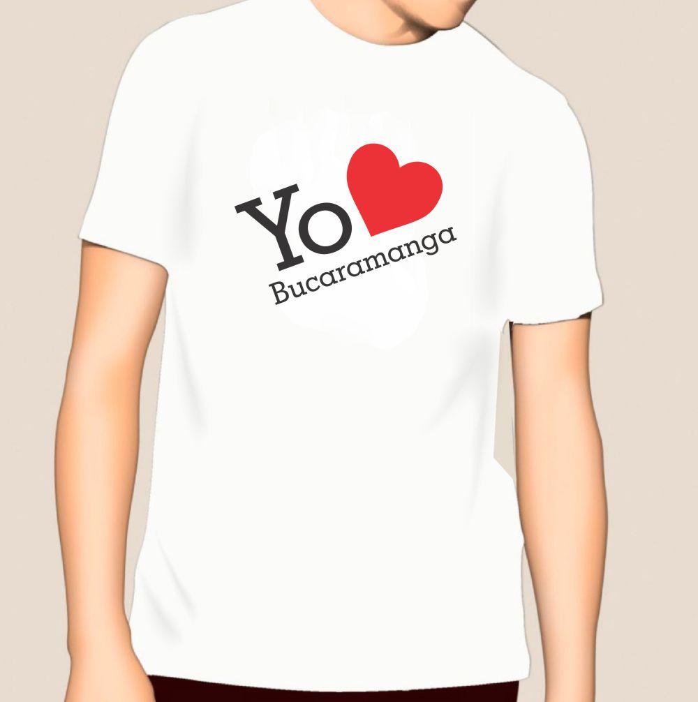 Camiseta Yo Amo a Bucaramanga_2