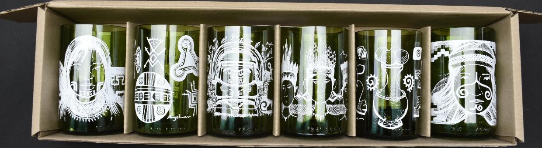 Vasos Ancestrales Set x 6_2