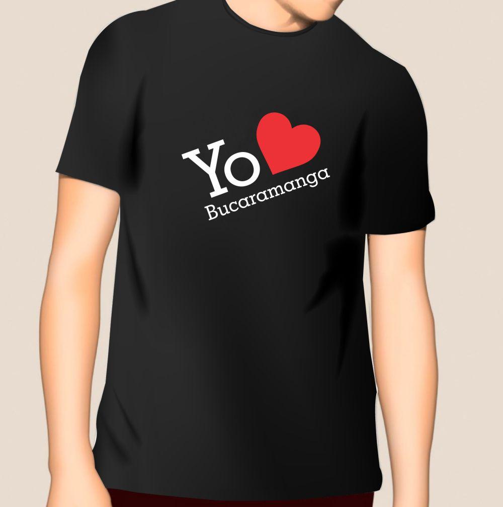 Camiseta Yo Amo a Bucaramanga_4