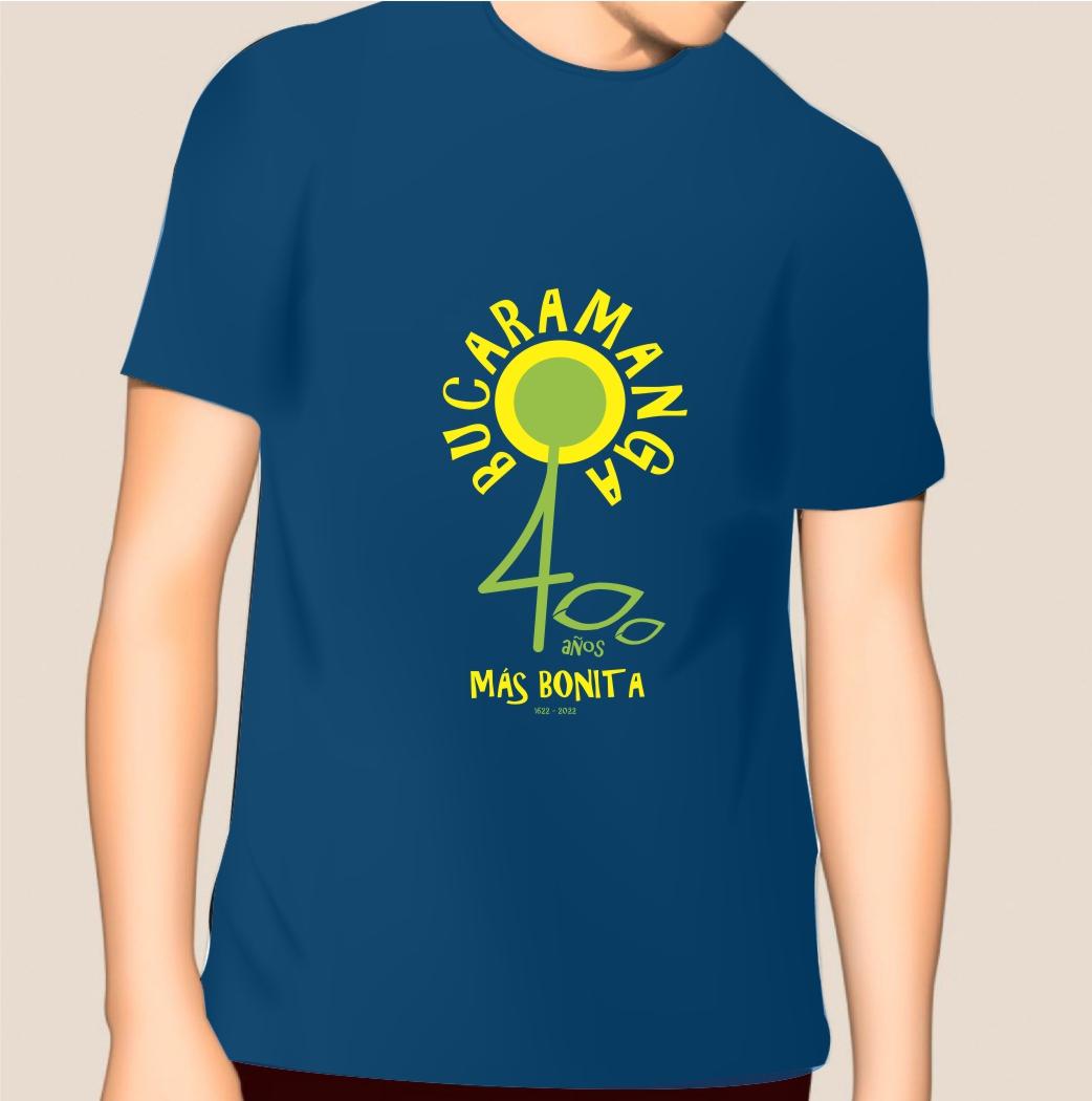 Camiseta Bucaramanga 400 años_2