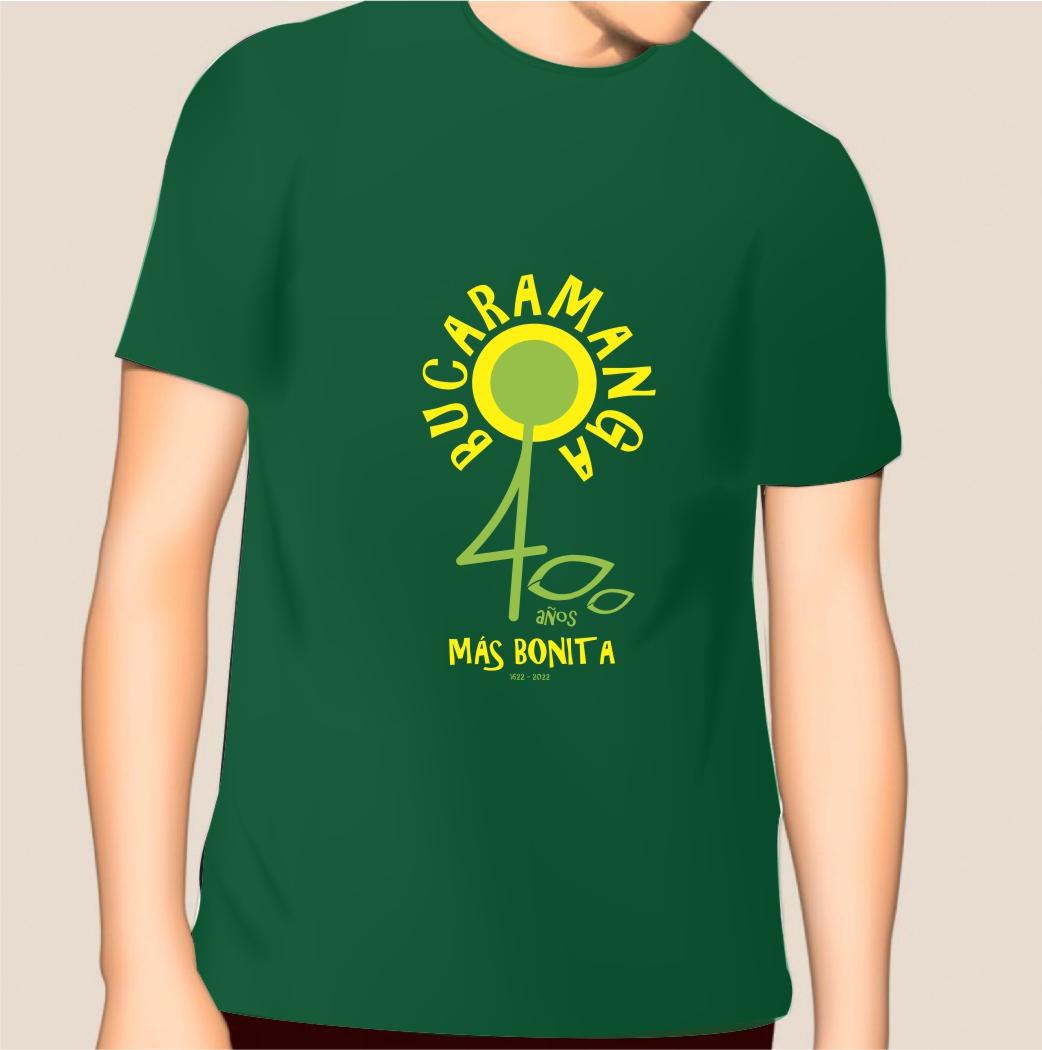 Camiseta Bucaramanga 400 años_3