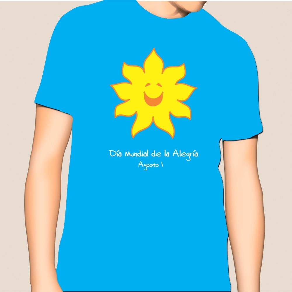 Camiseta oficial Pro Fondos del Día Mundial de la Alegría_2