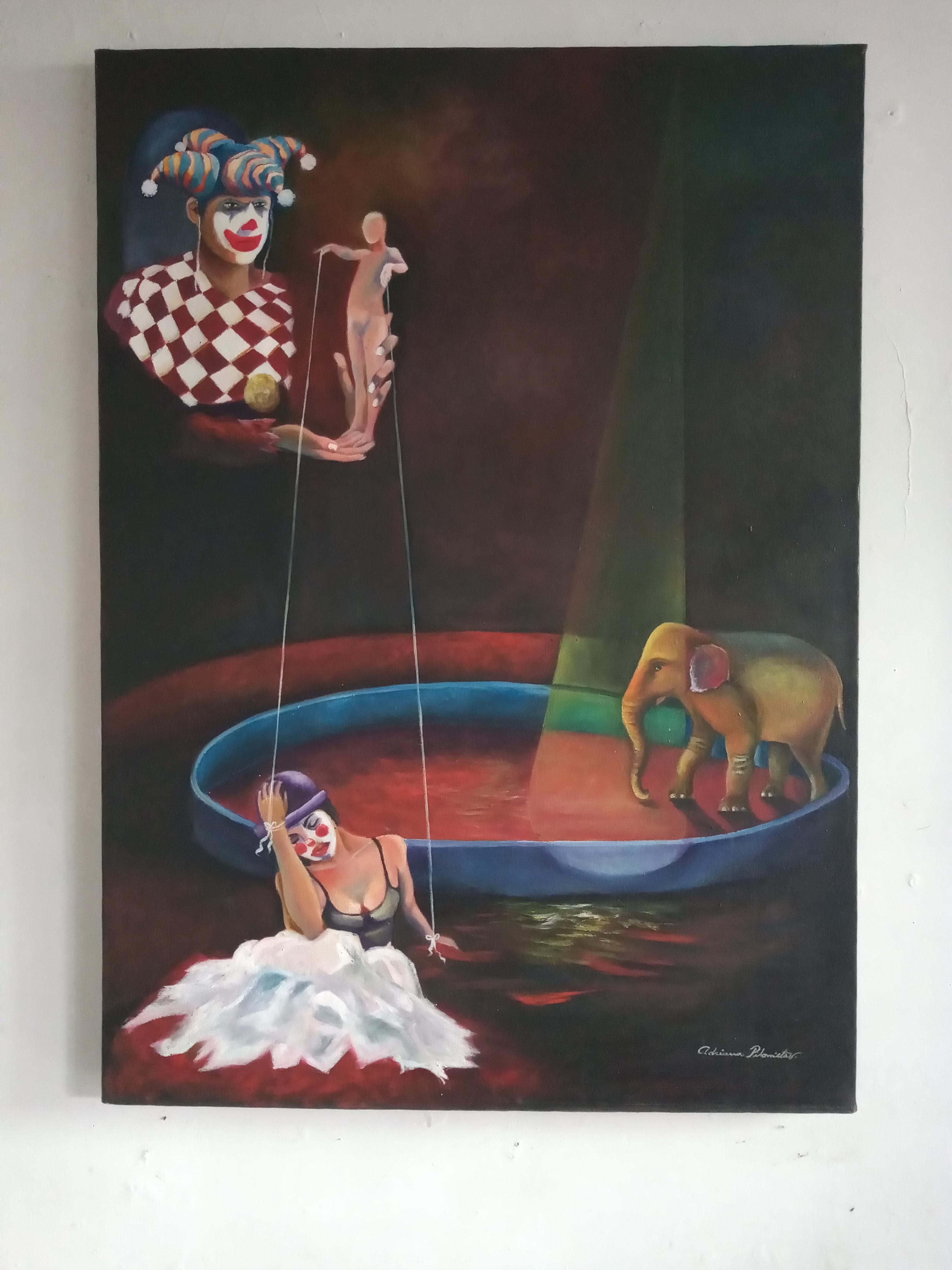 Obra  de Maestra Adriana Pilonieta - Circo_1