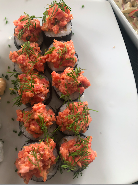 Spicy tuna roll _1