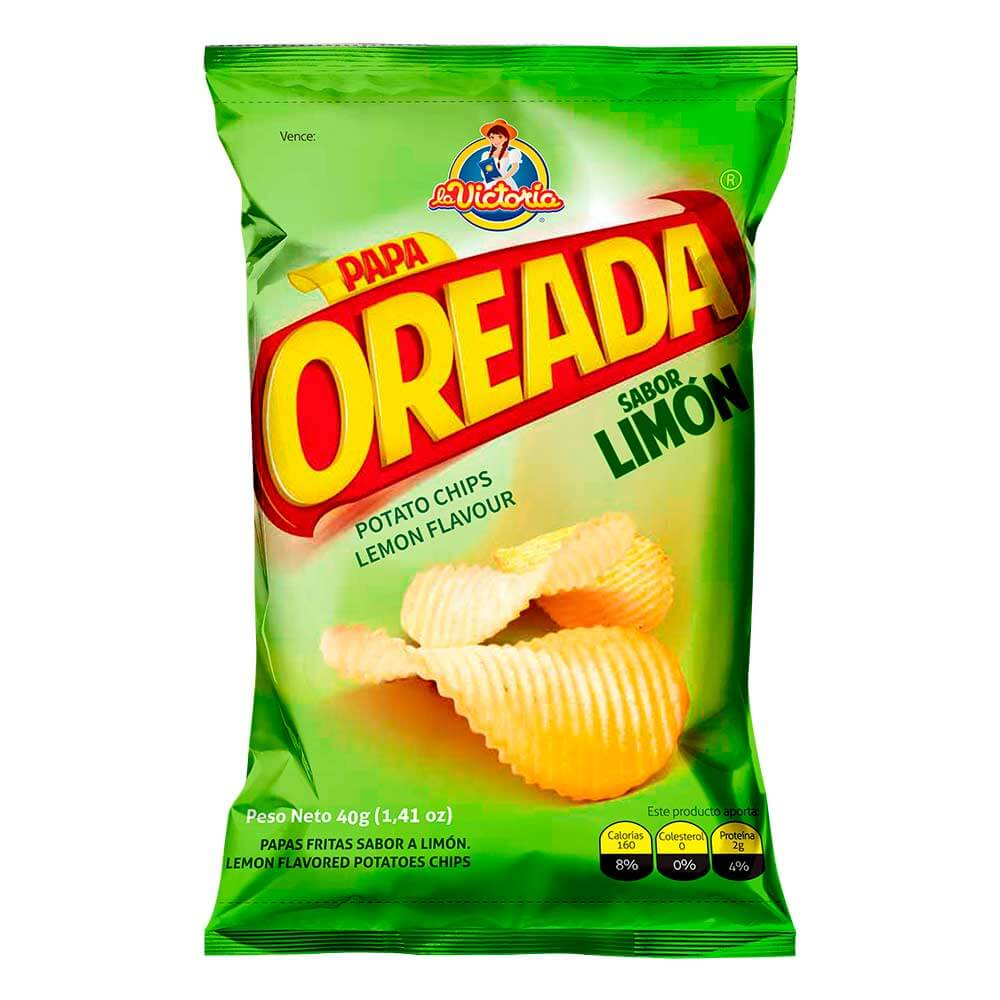Papa Oreada Limón 40 g (Display PAGUE 6 LLEVE 7 UND.)_1
