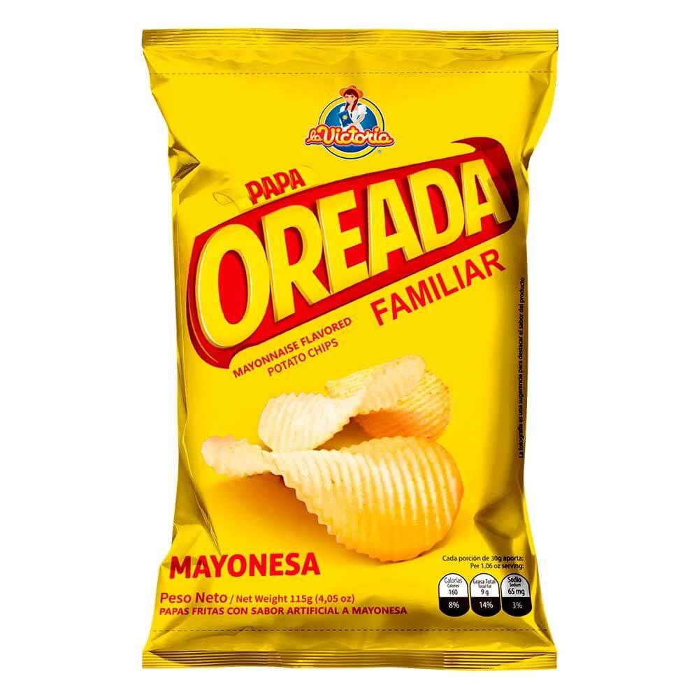 Papa Oreada Mayonesa Familiar 115 gr._1