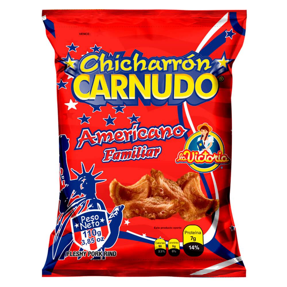Chicharrón Carnudo Familiar 110 gr._1