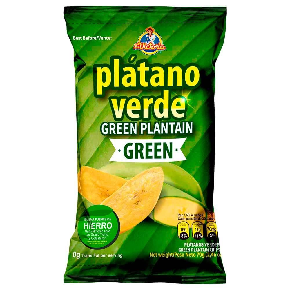 Plátano Verde Green 70 g (Dislpay x 6 UND.)_1