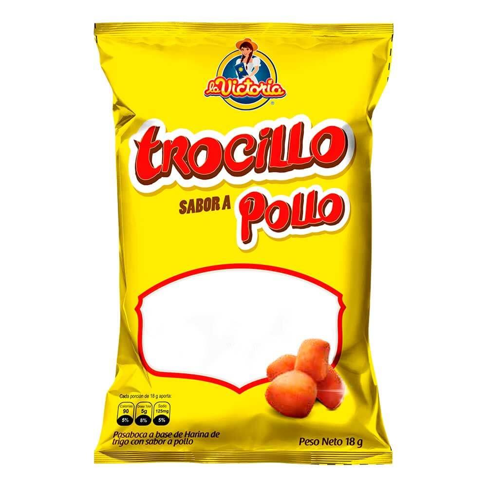 Trocillo Pollo Popular 18 gr. (Display x 12 UND.)_1