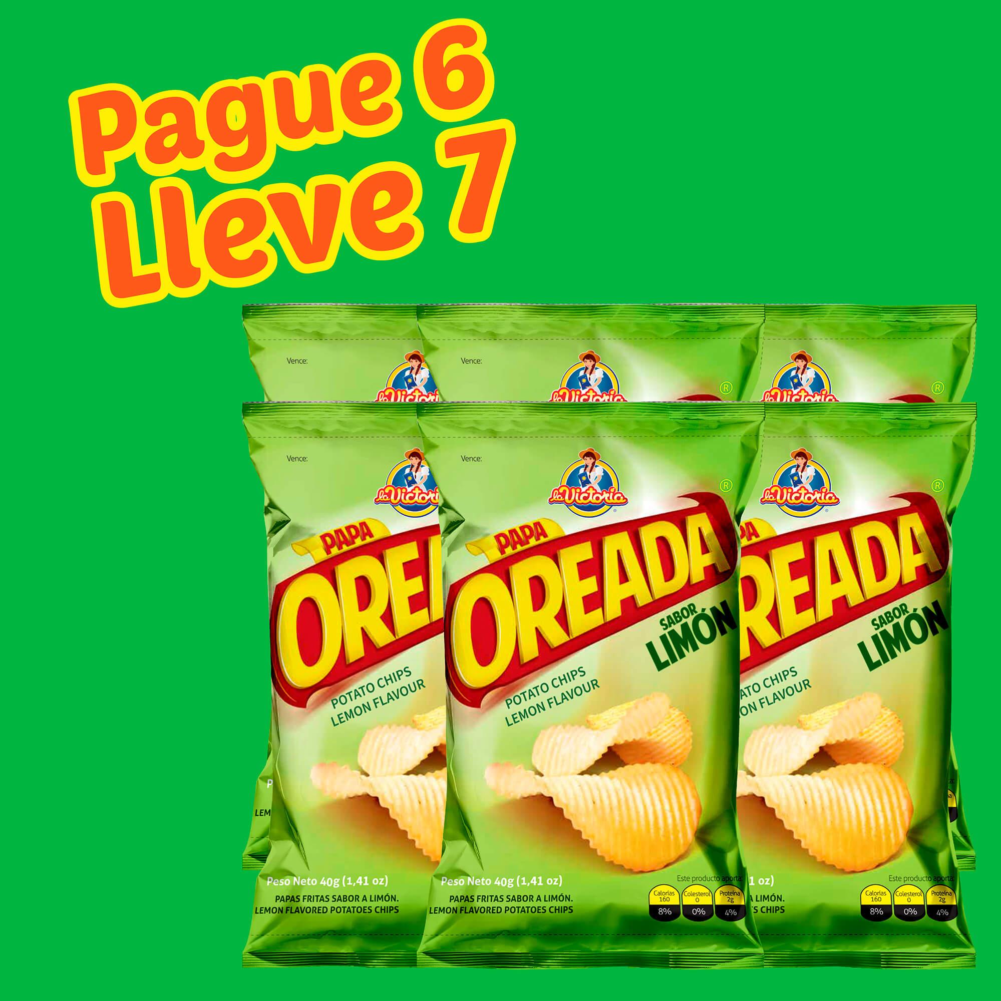 Papa Oreada Limón 40 g (Display PAGUE 6 LLEVE 7 UND.)_2
